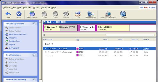 Partitie Wijzigen Windows 7.Opgelost C Partitie Vergroten