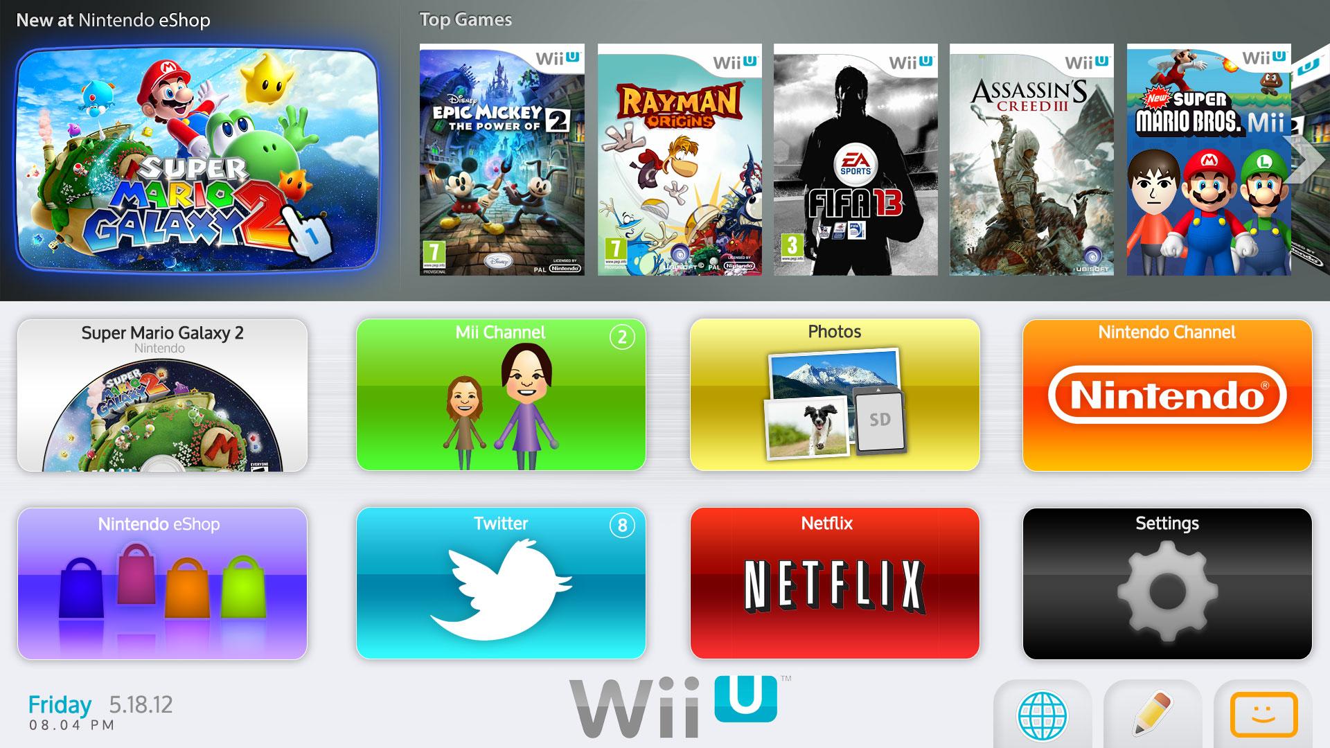 Wii U menu - Page 5 - Wii U Hardware - Wii U Forums