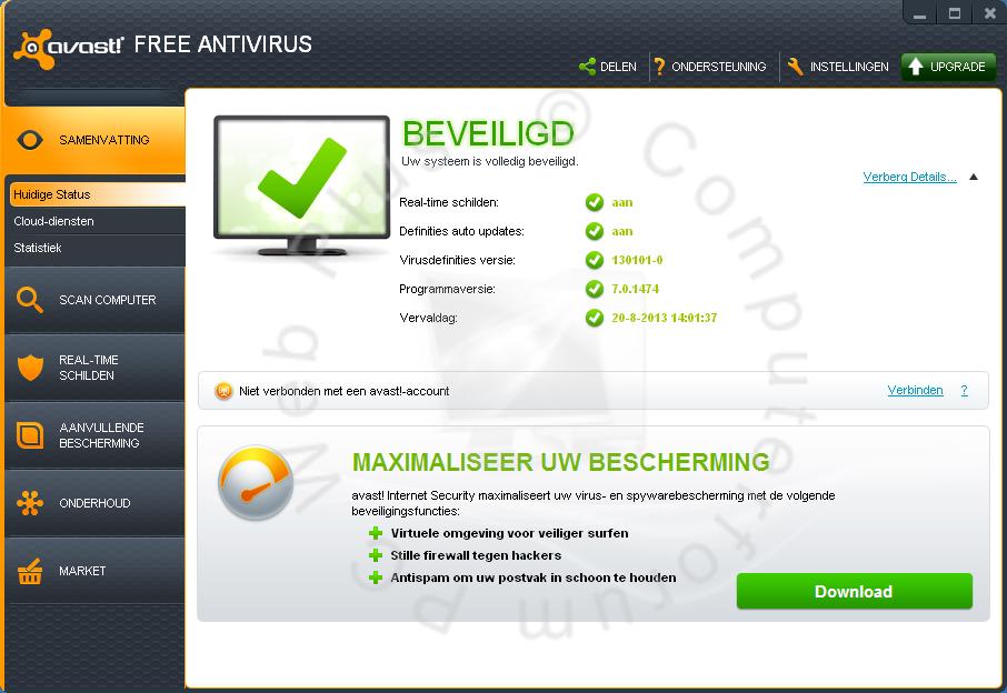 Beste gratis virusscanner