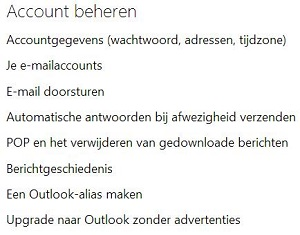 berichten markeren in outlook