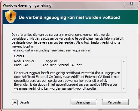 Ziggo Wifi Hotspot Certificaat Pagina 2 Pc Web Plus