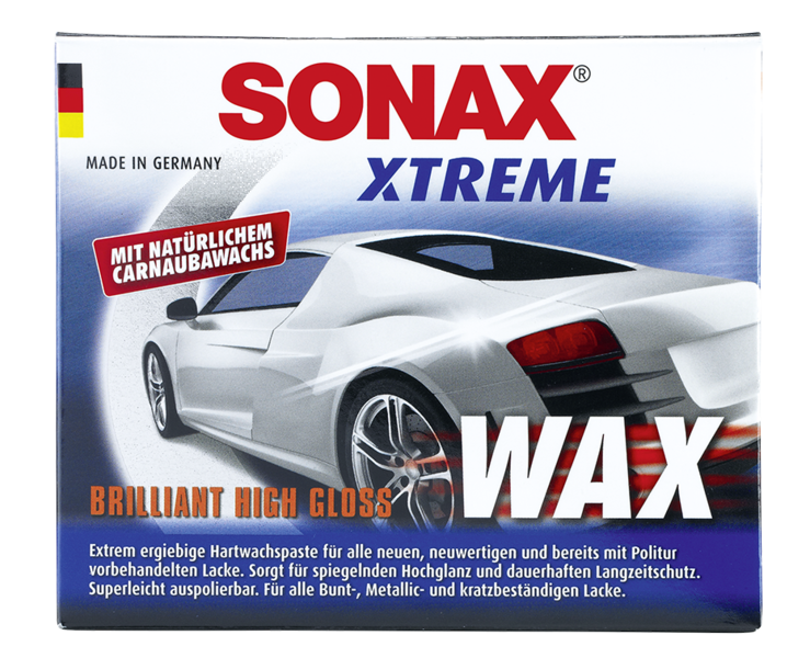 review sonax xtreme paste wax nr 1 waxworld forum. Black Bedroom Furniture Sets. Home Design Ideas