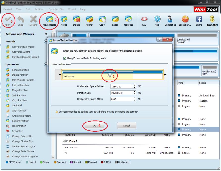 Partitie Wijzigen Windows 7.Ssd Vervangen En Vergroten Pc Web Plus