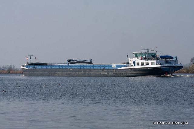 Vrachtschip.