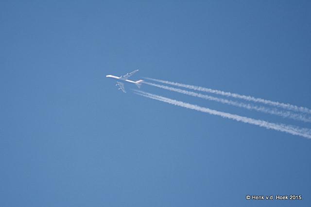 4 motorig vliegtuig.