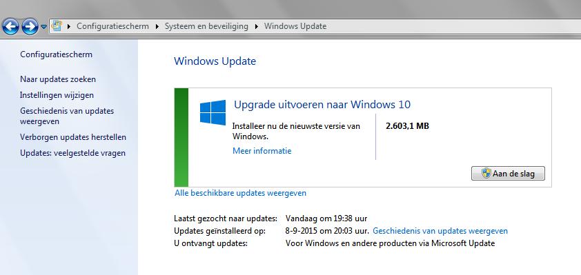 W10 upgrade zonder autorisatie !! - Security NL