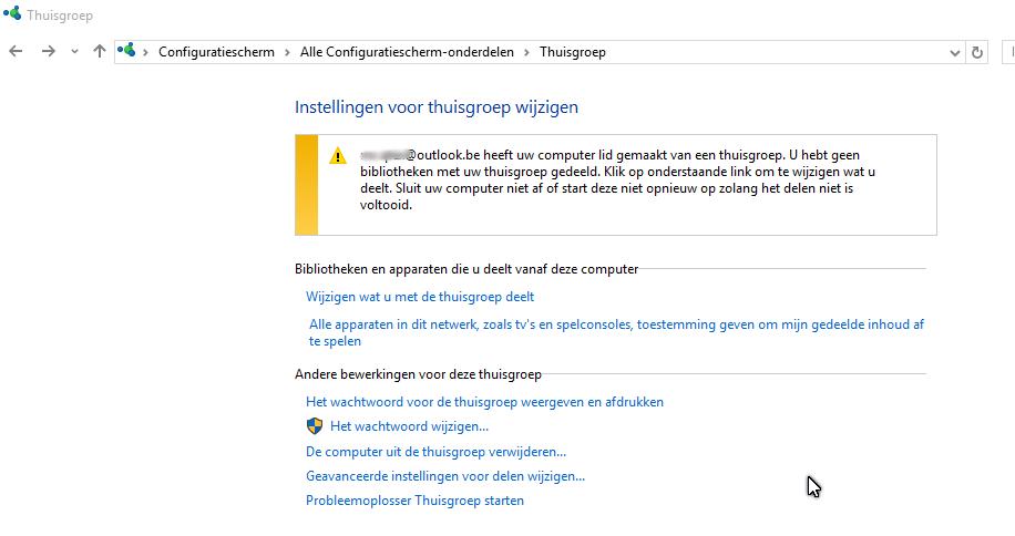 wachtwoord wijzigen windows 10