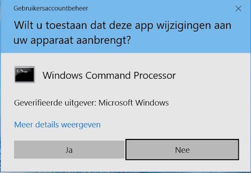 netwerk herstellen windows 10