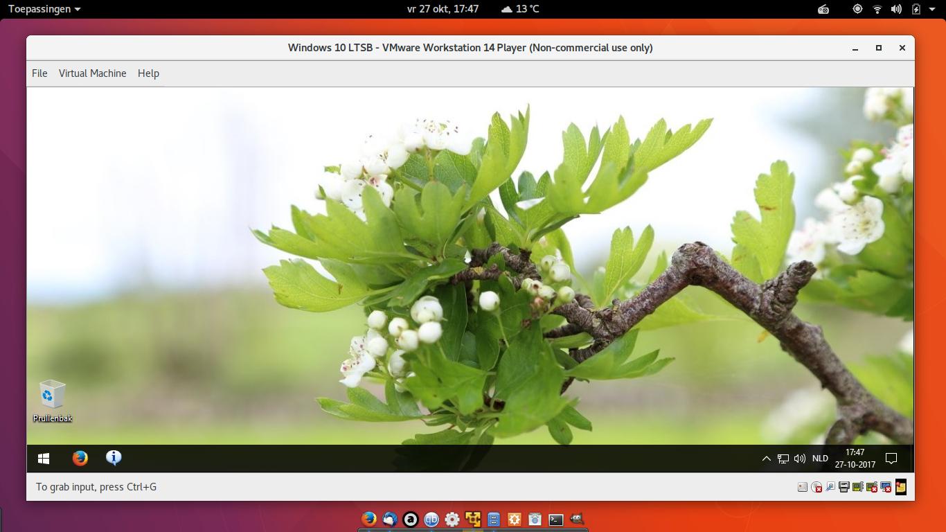 Ingebouwde Ubuntu in Windows 10